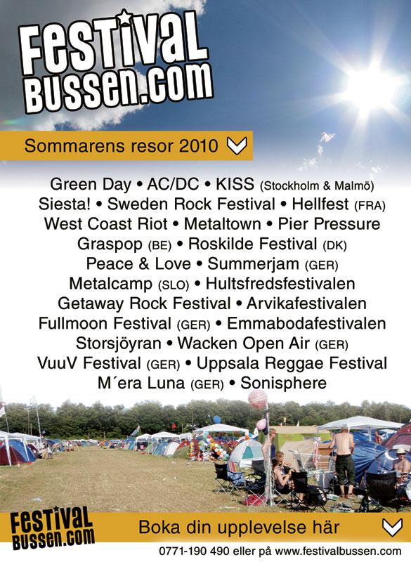 Festivalbussen 2010